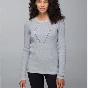 Lululemon The Sweater The Better Grey 6 8